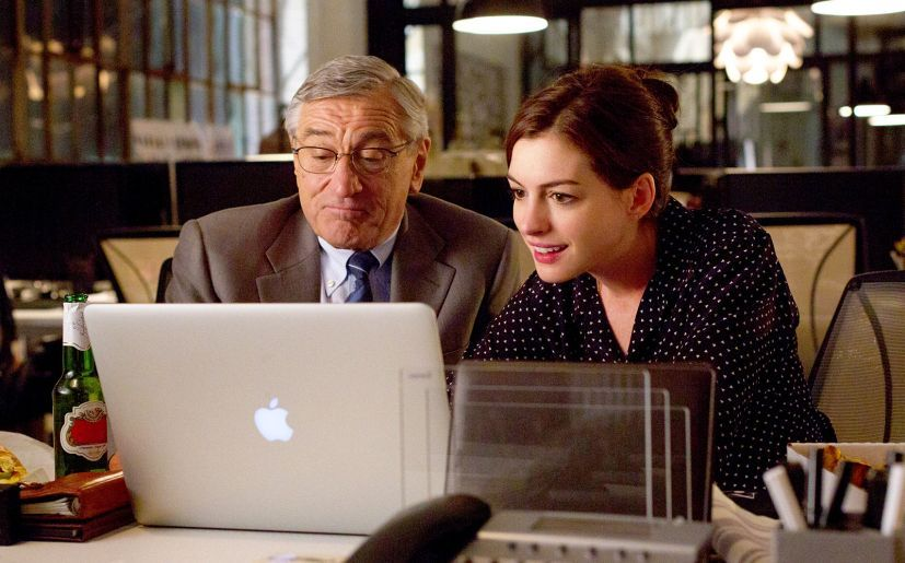 "Película ""El Becario"" (""The Intern"", 2015)"